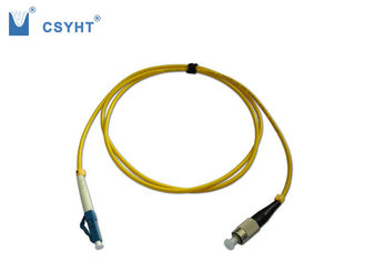 Corde de correction optique hybride de fibre de mode unitaire, FC - Sc FC - corde de correction de fibre de LC